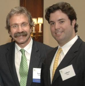 Image of Lawrence Curtis and Gilbert Winn of WinnCompanies, members of B'nai B'rith's Real Estate Council of Advisors.