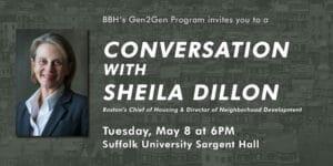 Gen2Gen Event: Conversation with Sheila Dillon